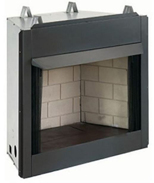 Vent Free 36 Inch Firebox With Palmetto Oak Gas Log Set