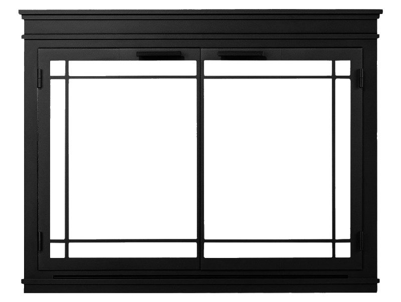 Mantel Glass Fireplace Door For Masonry Fireplaces