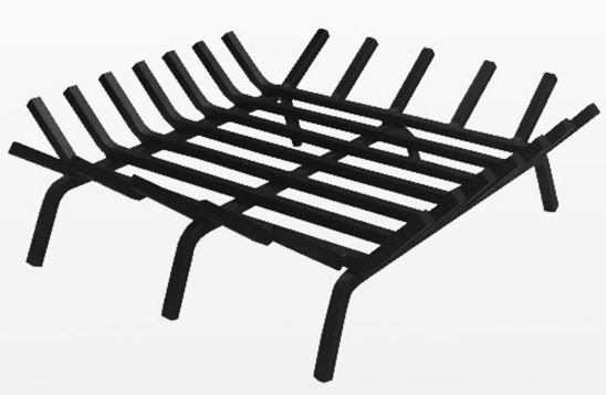 Inch Square Stainless Steel Fire Pit Grate