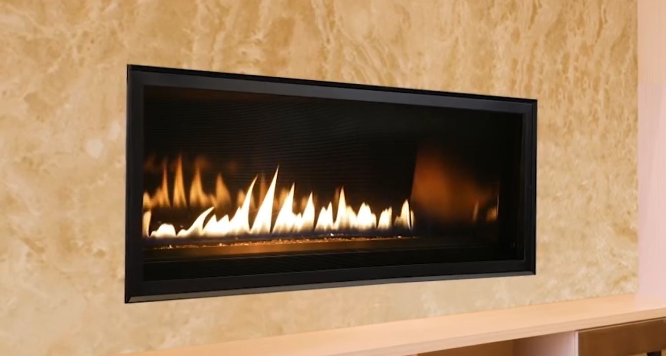 42 Superior Linear Direct Vent Gas Fireplace With 4 5 7 5 Vent System