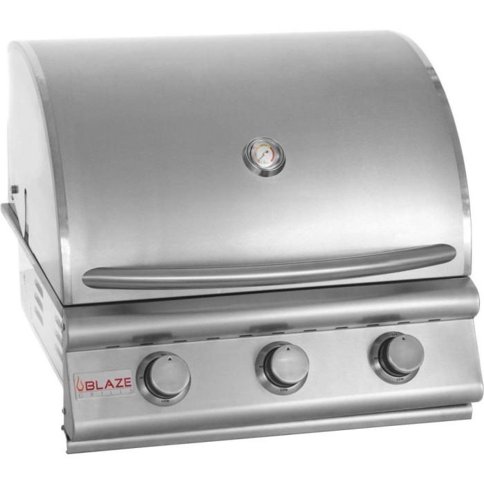 Blaze Traditional 3 Burner Gas Grill 25 Inch