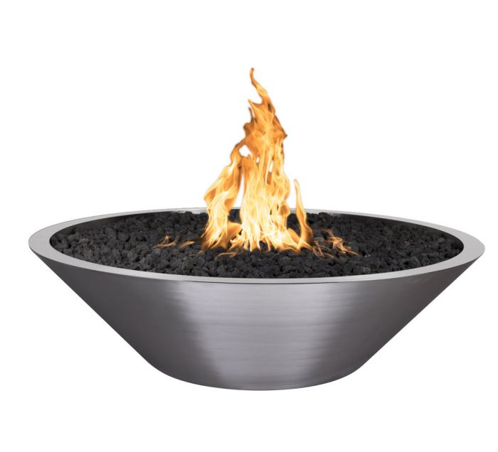 Stainless Steel Square Fire Bowl