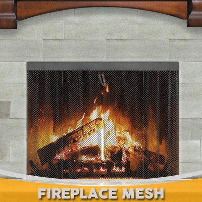 Replacement Fireplace Mesh
