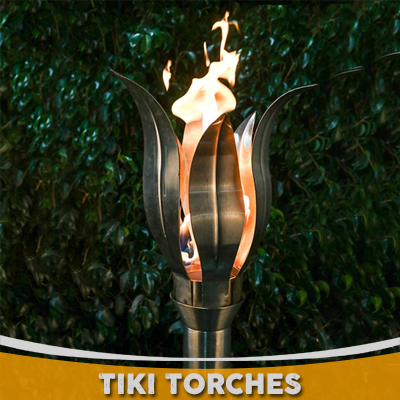 Custom Tiki Torches