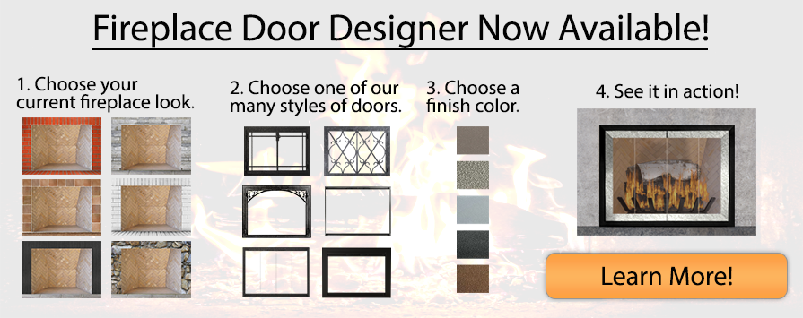 Fireplace Door Designer Now Available