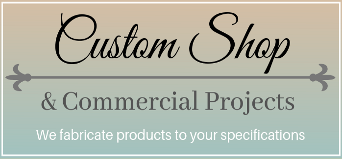 Custom Shop & Commercial Products