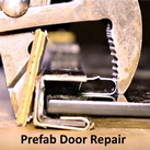 Prefab Fireplace Door Repair