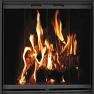 Clearance Pre-fab fireplace doors - Affordable prices on show room models!