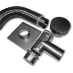 Pre-Insulated Flex Liner Kits with Tee - 316L