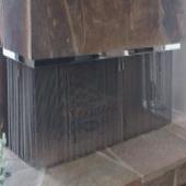 Corner Fireplace Mesh