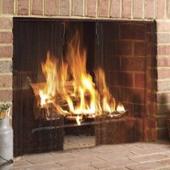 Custom Fireplace Mesh