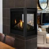 Peninsula Fireplace Door