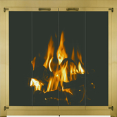 Clearance Masonry Fireplace Doors - Show room models and customer returns - Great condition!