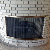 Custom Style And Design Fireplace Doors