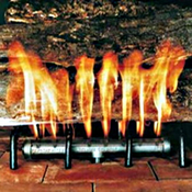 Log Lighters - Gas Starter Pipe