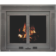 Acadia High Efficiency Fireplace Insert shown in Bronzed Iron powder coat finish