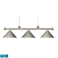 LED 3-Light Casual Traditions Island Light