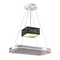 2-Light Novelty Island Light with Hockey Arena Motif