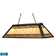 4-Light Filigree Billiard LED Light