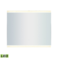 "36"" x 30"" LED Mirror In Brushed Aluminum"
