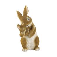 Bonding Time Mom & Baby Rabbit Figurine
