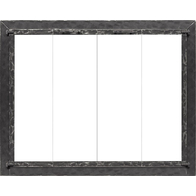 Forged Steel Laramie Zero Clearance Fireplace Door in Clear Natural