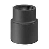 Charcoal Post Connector for Post Mount Light