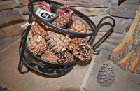 Pinecone caddy