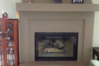 Create a classic look with the Pelham fireplace doors for pre-fab fireplaces