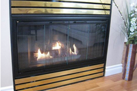 The Pelham fireplace door in black - Classic and Affordable