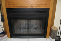 Pelham - zero clearance fireplaces get an updated look with this great fireplace door set