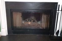 The Pelham zero clearance fireplace door can match with any decor you have