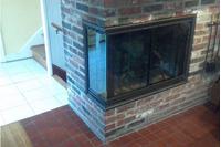 Cumberland Corner Fireplace Door!