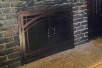 Madrid Fireplace Door