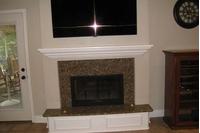 Serenity Masonry Fireplace Door