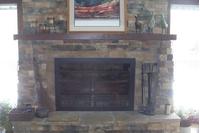 Paterson Sliding Masonry Fireplace Door