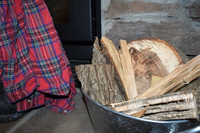 Wood and kindling for the fire!