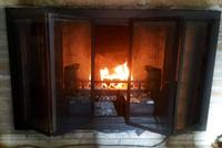 Zion Zero Clearance Fireplace Door