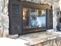 Pelham Zero Clearance fireplace door - Customer photo!