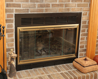 Sunlyte Zero Clearance Fireplace Door