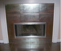 Moonlyte Zero Clearance Fireplace Door