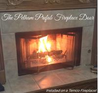 Pelham ZC Fireplace Door for Temco Fireplaces
