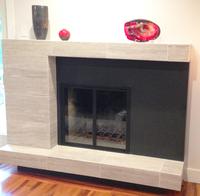 Stiletto Zero Clearance Fireplace Door