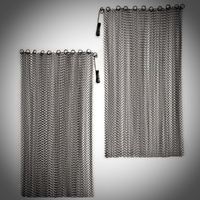 Fireplace Mesh Curtains