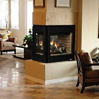 Multisided Fireplace Doors