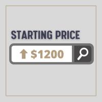 Starting Price Above $1200