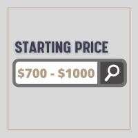 Starting Price $700 - $1000