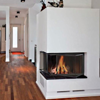 Corner Fireplace Doors | Multi Sided Fireplace Doors