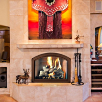 Arched Fireplace Doors | Masonry Fireplace Doors | Wood Burning Fireplace Glass Doors