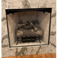 4 Sided Overlap Doors For Prefab Fireplaces